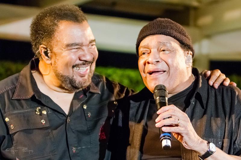 George Duke and Al Jarreau