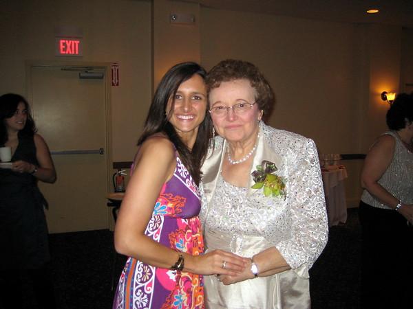 Kelly Boscarino and grandma in Cape Cod
