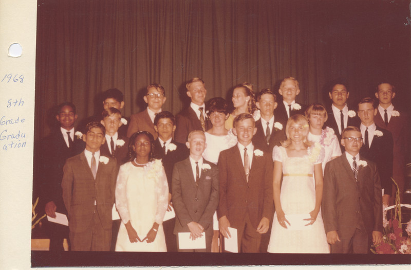 David graduation, 1968