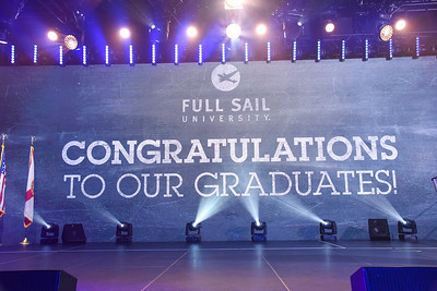 Ceremony One Grads Walking December 20th, 2019 Full Sail Graduation