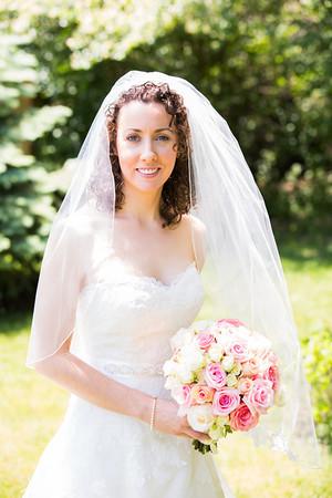 Jeff and Lauren Wedding - Bride and Girls