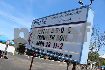 4/28/18 Pirtle Methodist Church Hosts Pirtle Bar-B-Q & Crawfish Boil by Byron Haden