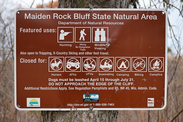 3rd Annual Maiden Rock Bluff workday