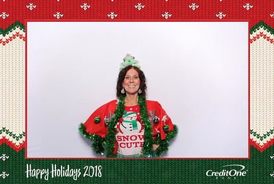 Ugly Sweater Contest Credit One Bank