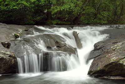 Water's Creek and Helton Creek Waterfalls