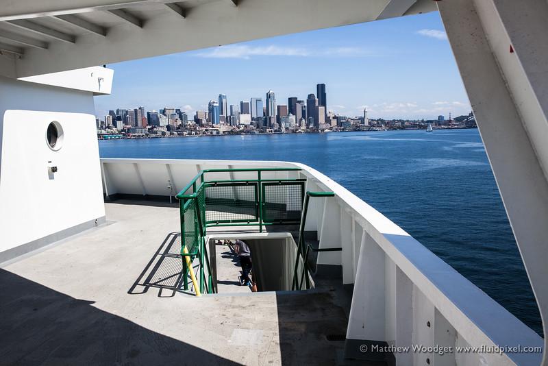 Woodget-140808-094--city - CATEGORIES, cityscape - CATEGORIES, ferry, Frame, Peuget Sound, Seattle, skyline.jpg