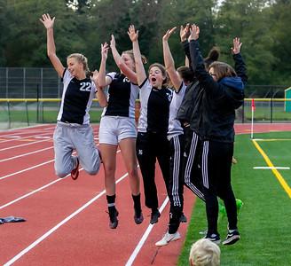 Vashon Island High School Girls Soccer Seniors Night Fall 2018