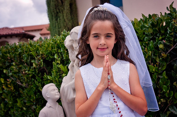 Ava Geoghegan - First Communion
