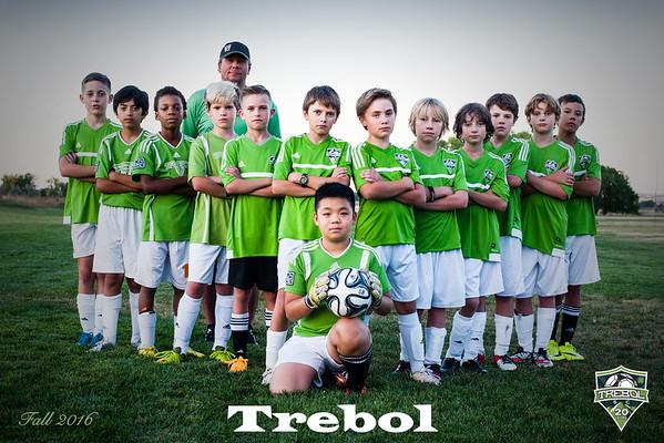 Trebol Soccer - Black Team