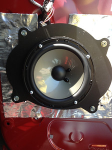 2013 Toyota tundra Double Cab Front Speaker Installation - USA