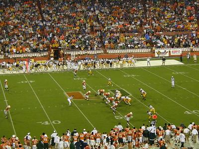UM Football Game - 10/25/2001