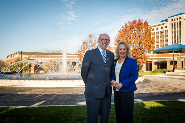 President Dan Bradley and Cheri at Fountain 2016