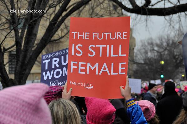 Women's March on Washington PART 1