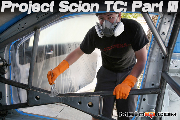 project scion tc, painting the cage