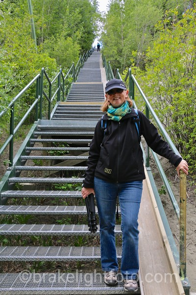 Stairway to Airport Trail