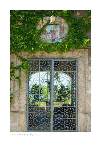 Garden Gate detail, Amalfi Coast, Italy