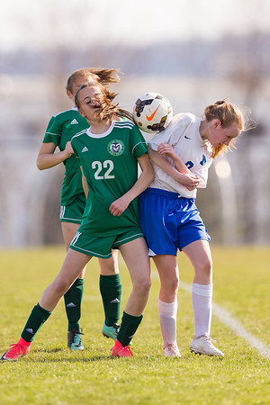 2018-04-12 | Girls MS Soccer | Central Dauphin @ Middletown