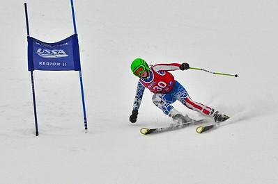 Dec 30-31 Mt Ripley J456 (W) GS 2nd race 2nd run