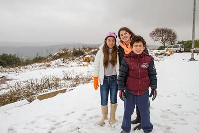 Snow, Tefen - 2013
