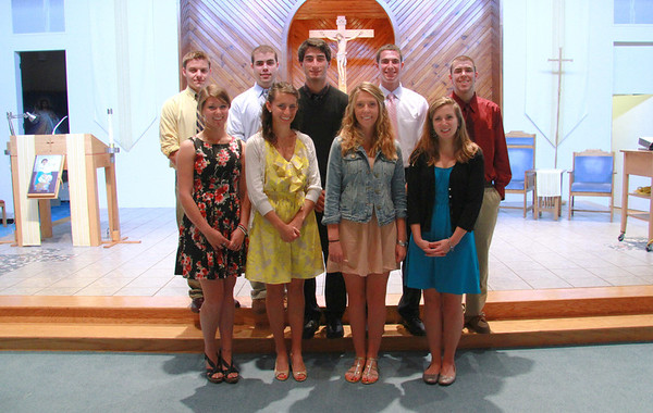 2012 HS Senior Graduates, Members of Our Lady of Perpetual Help