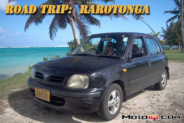 Nissan March in Rarotonga