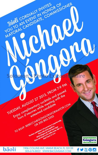 Michael Gongora 8.27.13