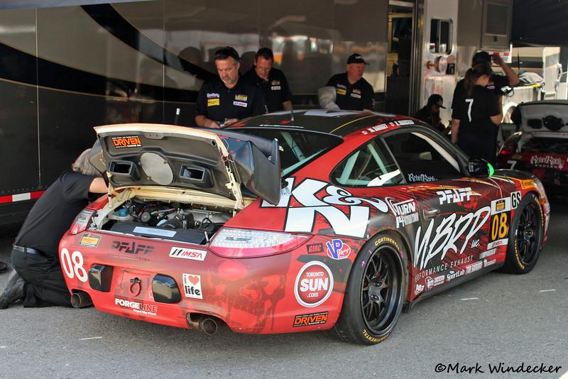 GS Rebel Rock/MBRP Racing Porsche 997