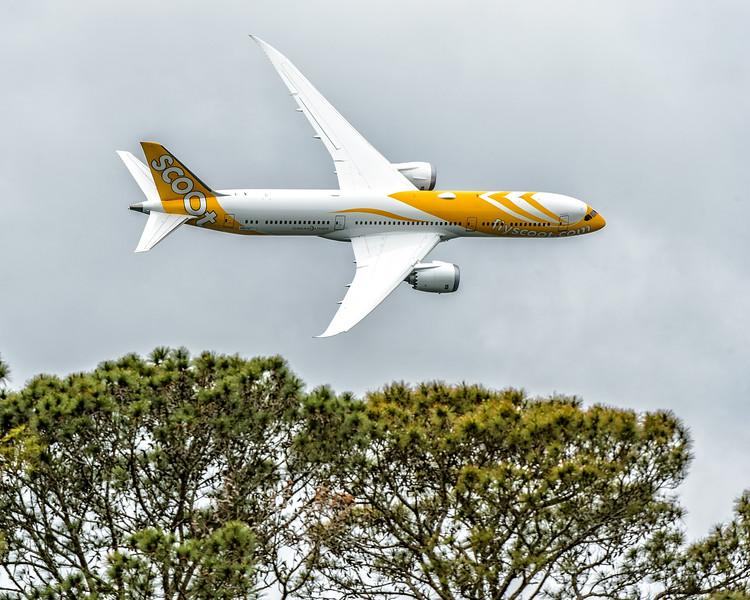 Boeing Flyover