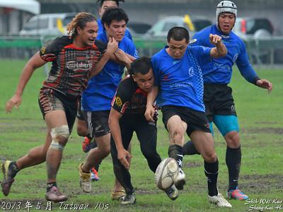 2013台灣國際10s-盃級決賽(Cup Final)-台灣浪人 VS 台北猴王黑(Taiwan Ronins VS Taipei Baboons Black)