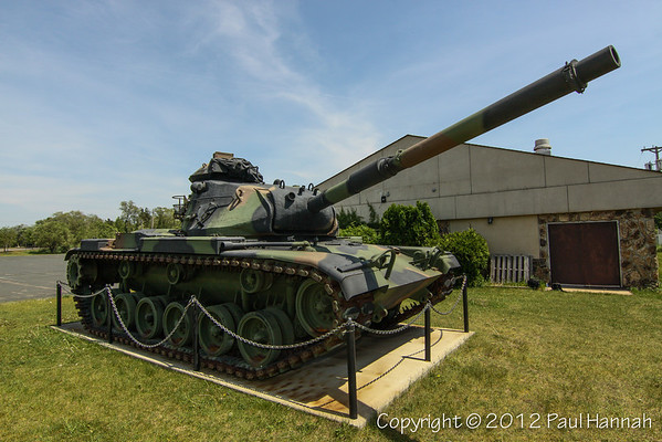 American Legion Post 600, Champlin, MN - M60A3