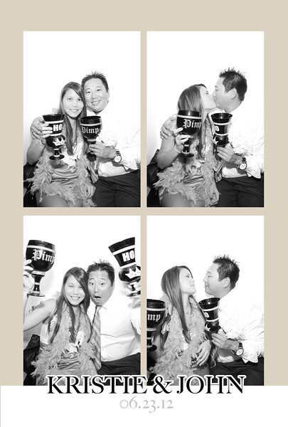 Kristie & John (Luxe Booth)