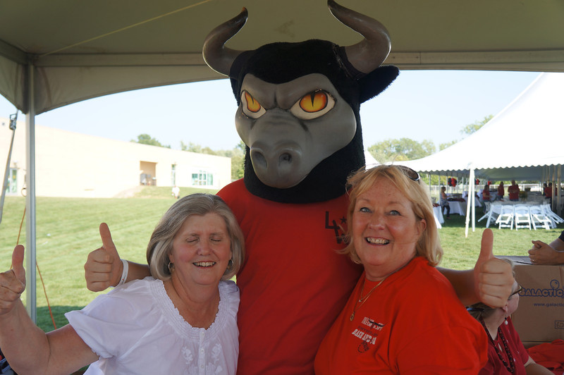 Lutheran-West-Longhorn-at-Unveiling-Bash-and-BBQ-at-Alumni-Field--2012-08-31-009.JPG