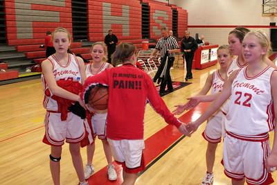 Girls JV Basketball - 2007-2008 - 2/12/2008 Fruitport