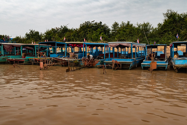Cambodian River Cruise and Village