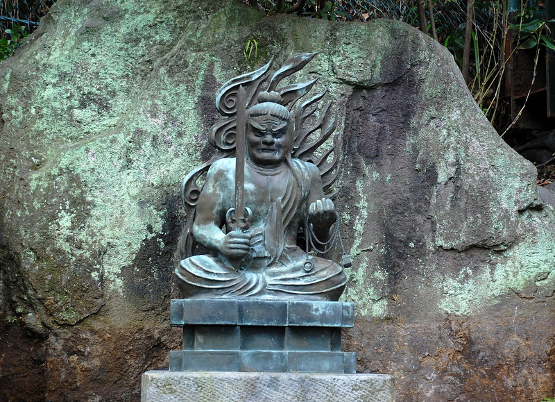 Fudo-myo at Hasadera Temple