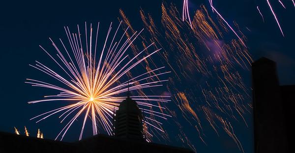 Fireworks, Grosse Pointe Farms, 2017