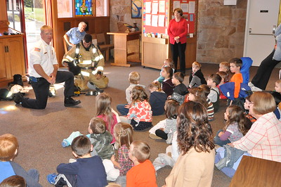 Fire Prevention Hope Preschool and Lehigh Valley Hospital Daycare