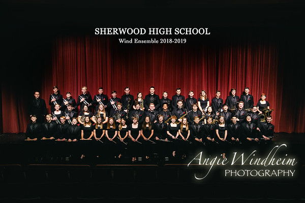 SHS Wind Ensemble 2018-19