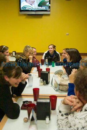 November 24, 2008 KKPsi at CiCi's