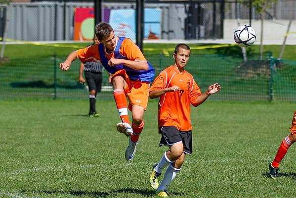2012 NNHS JV Soccer vs. Newton South