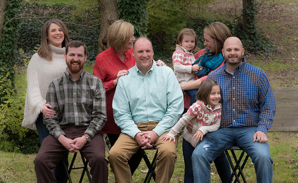 Fishburn Family, Winter 2015