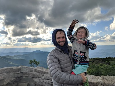 Elliot on Mountain - 6/2019