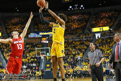 Michigan vs Ohio State 18 Feb 2018