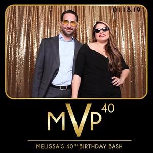 MVP 40 - Melissa's Birthday