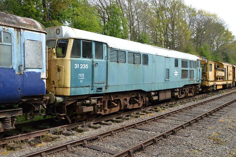 31235 at Thuxton Sidings MNR.