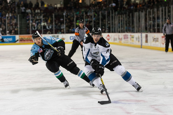 Idaho Steelheads vs Alaska Aces - 12.03.2016