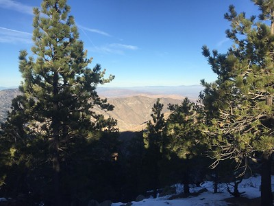 Winston Peak and Winston Ridge
