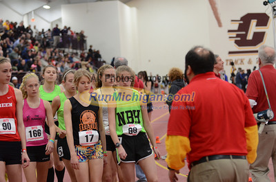 Girl's 3200 Run, Gallery 2 (tl) - 2013 MITS State Meet