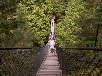 Lynn Canyon Park, Grouse Mountain