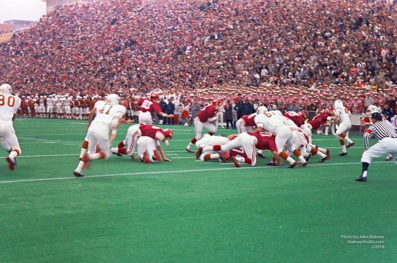 Play before Arkansas's first touchdown
